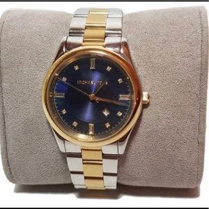 Michael Kors stainless steel bracelet watch NWT